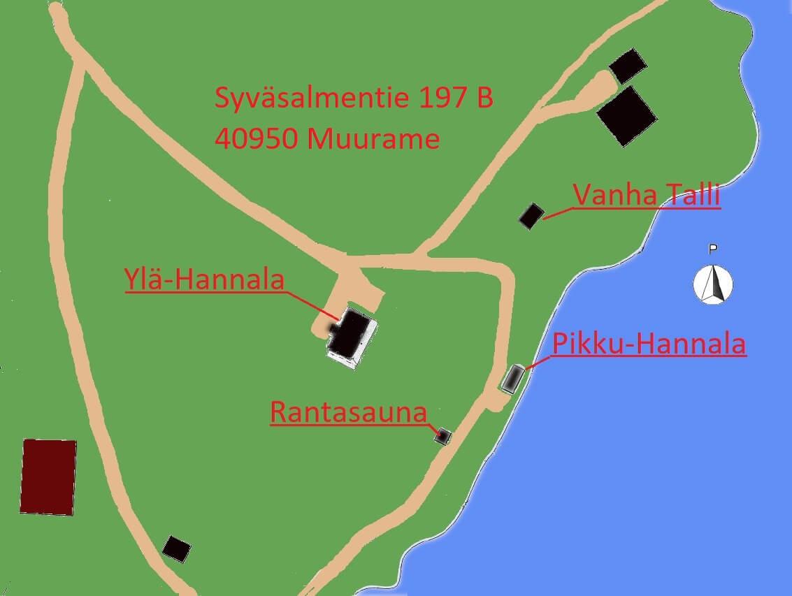 Hannala Kartta